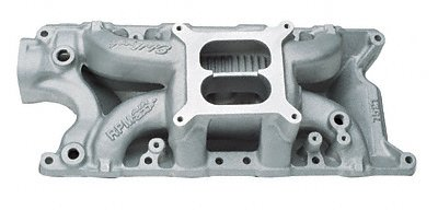 Edelbrock 75212 Performer RPM Air-Gap Intake Manifold (Air Performer Rpm Gap Edelbrock)