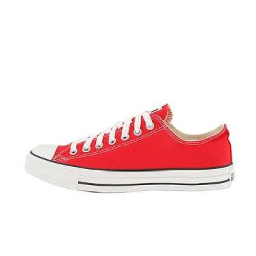 Converse Unisex Chuck Taylor All Star Ox Basketball Shoe (5.5 B(M) US Women / 3.5 D(M) US Me, Red) (Converse Red Chucks)