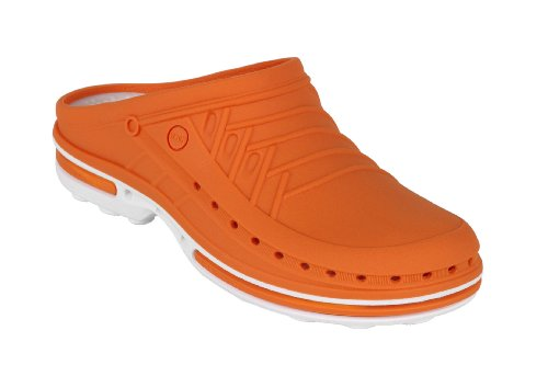 Clog - WOCK Professional Footwear - Sterilizable; Antistatic; Antislip; Shock Absorption Orange 0KOV9MNggZ