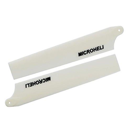 - Plastic Main Blade 85mm, White: Blade Nano CP X