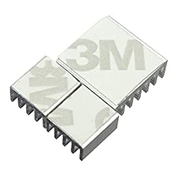 Nrthtri smt 90pcs Aluminum Adhesive Heat Sink Cooler Fit for Cooling Raspberry Pi Board