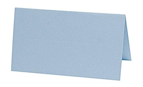 Tischkarten hellblau