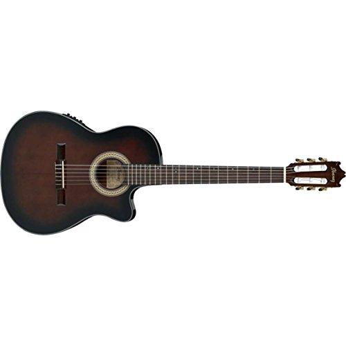 Ibanez 6 String Classical Guitar Right Handed, Dark Violin Sunburst GA35TCEDVS