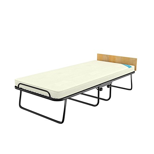 Camabeds Easy Single Premium Roll Away Bed with Castor Wheels and 3.5  Mattress