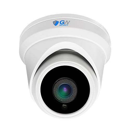 GW Security 5MP Color Night Vision 1920P Starlight IP PoE Camera H.265 Starvis Outdoor Indoor Dome Security Camera