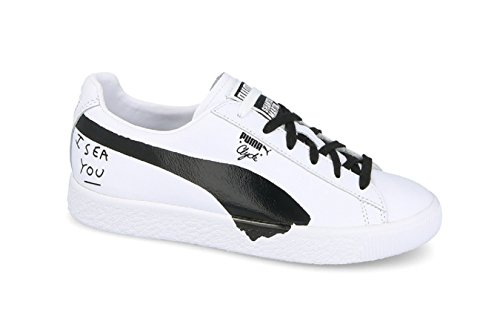 Puma Wmn Clyde SM White Black White