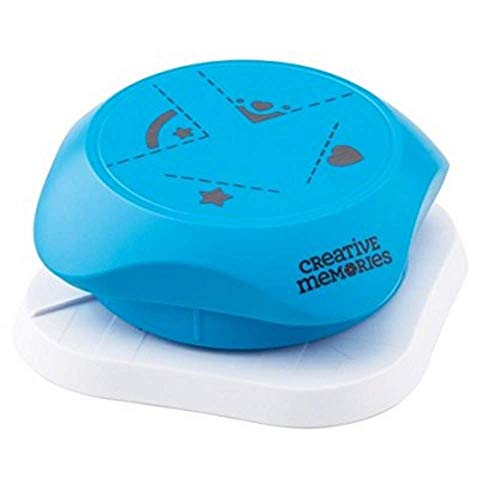 Creative Memories 4-Way Hearts and Stars Corner and Hole Punch