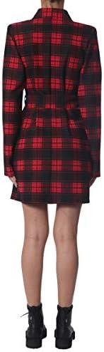 Luxury Fashion | Unravel Project Dames UWGD004E193020011910 Rood Polyester Jurken | Herfst-winter 19