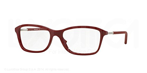 Burberry Eyeglasses BE2174 3431 Red 51 16 - Red Eyeglasses Burberry