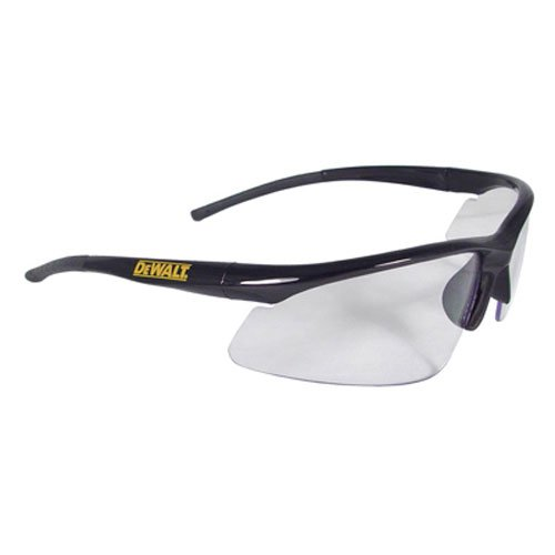 Dewalt DPG51-1C Radius Clear 10 Base Curve Lens Protective Safety Glasses]()