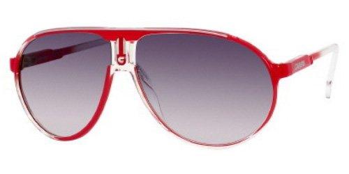 Carrera Champion CS Unisex Sunglasses CHAMPIONCS-0KYNJJ Red Crystal Shaded E62B12T125 M - Real B Sunglasses