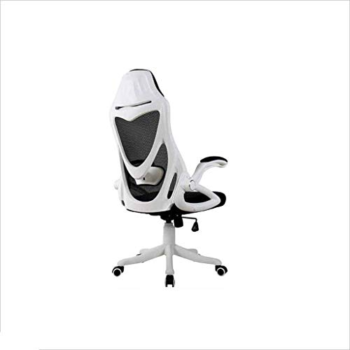 Sillas Gaming Silla Ordenador Ascensor Silla Juego competitivo (Color : White)