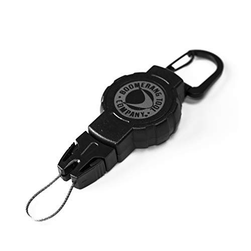 Boomerang Small Scuba Gear Retractor with Carabiner and 24