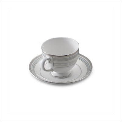 Wedgwood Lustreware Pacific Stripe Saucers Only