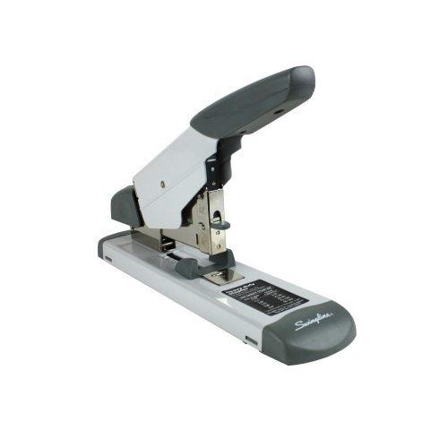 Deluxe Stapler - Swingline 39002 Deluxe Heavy-Duty Stapler 160-Sheet Capacity Platinum