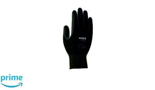 /6639/seguridad guantes Negro Uvex 60248/9/Unipur/ tama/ño: 9
