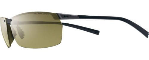 Nike Forge Rimless Sunglasses (Anthracite Frame, Outdoor Lens)