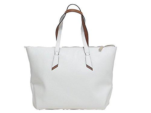 Coccinelle borsa donna, Iphigenie, B 15110101, borsa a spalla pelle, bianco E8102