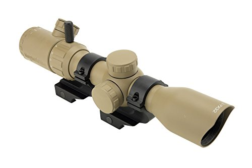 Used, Monstrum Tactical 2-7x32 Rifle Scope with Rangefinder for sale  Delivered anywhere in USA