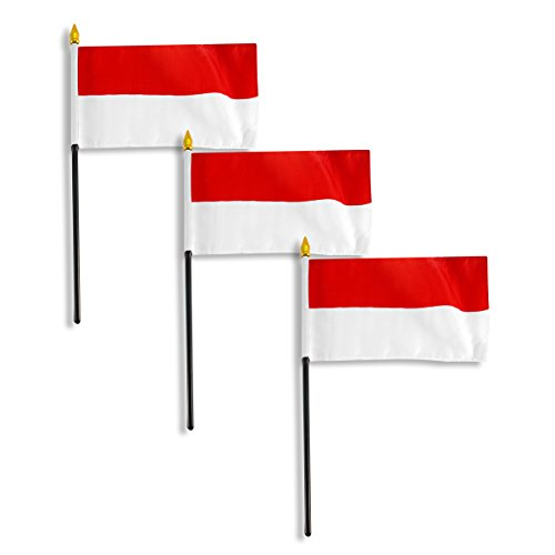Indonesia flag 4 x 6 inch - 3 - Store Indonesia Online