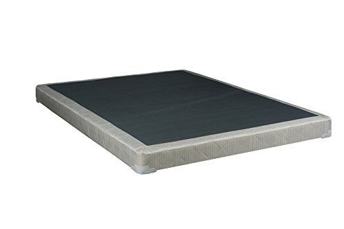 Low Foundation (Mattress Solution, 4-inch/Low Profile Assembled Box Spring/Foundation for Mattress  Twin Size )