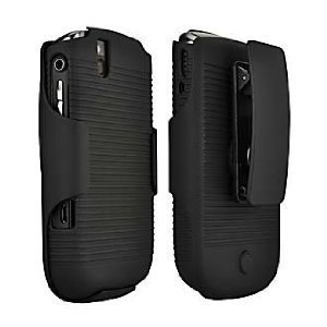 Verizon Wireless Shell Holster Combo for BlackBerry Bold 9650 & Tour 9630 (Case Rubberized 9630)