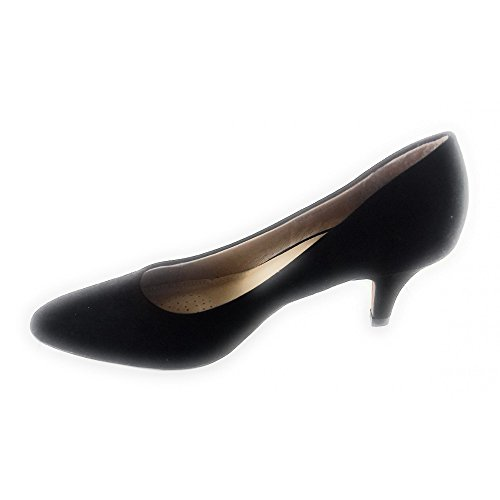 Heels Closed Box Black WoMen Black Lotus Clio Toe 8OwxEqAIg