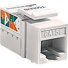 amazon com cooper wiring devices 5547 5ela cat 5e rj45 modular data rh amazon com  rj45 data jack wiring