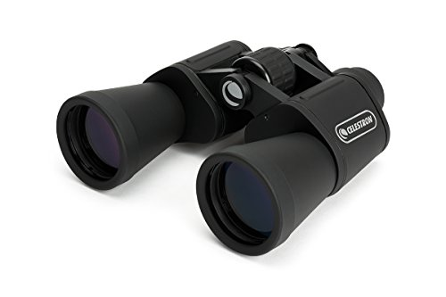 Celestron - UpClose G2 20x50 Porro Binoculars with Multi-Coated BK-7 Prism Glass - Water-Resistant Binoculars with Rubber Armored and Non-Slip Ergonomic Body for Sporting Events
