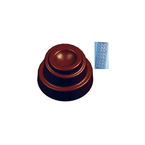 Fat Daddios Chocolate Mould - Fat Daddios Chocolate Mould - Polycarbonate - Cone - Spiral