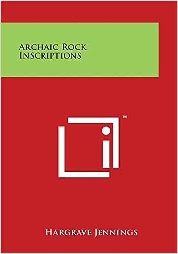 Ilmaiset äänikirjat ladataan tietokoneeseen Archaic Rock Inscriptions FB2