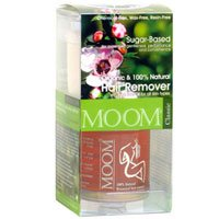 Moom Organic Hair Removal Kit with Tea Tree -- 1 kit.