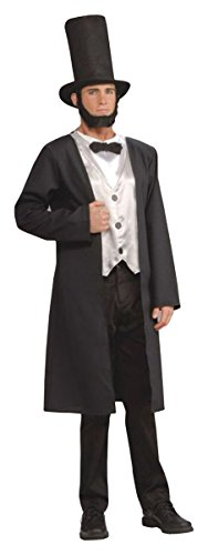 Abe Lincoln Adult Costume - (Adult Abe Lincoln Costumes)