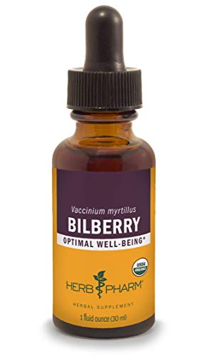 Herb Pharm Bilberry Liquid Extract for Eye and Vision Support - 1 Ounce