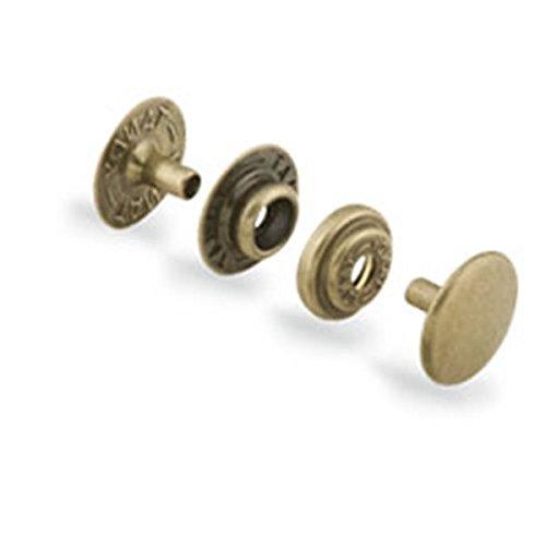 Line 20 Snaps Antique Brass 10/pk 1261-04