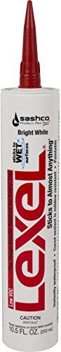 sashco-lexel-105-ounce-cartridge-white-low-voc-pack-of-12