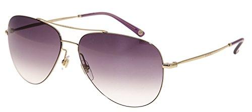 GUCCI Aviator GG2245S Gold Violet Gradient Sunglasses Steel Unisex - Gucci Aviator Acetate Sunglasses