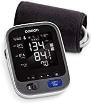 Omron BP791IT 10+ Series Upper Arm Blood Pressure Monitor, Black/White, Large