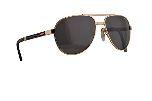 Mille Une Roses - Chopard Mille Miglia SCHB81 Folding Sunglasses Shiny Rose Gold w/Polarized Smoke Lens 61mm 300P SCHB 81