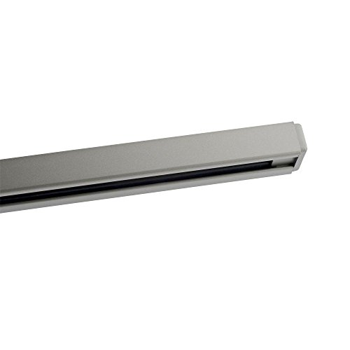Kendal Lighting T4-BST Designers Choice 4-Feet 120V 20A Track, Brushed Steel Finish by Kendal Lighting