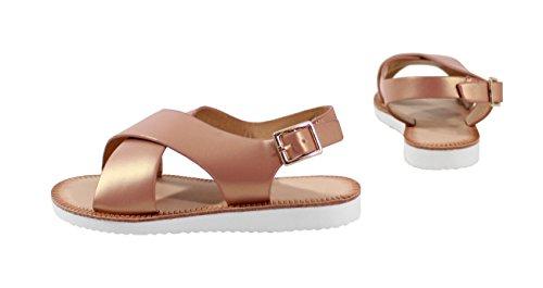 Pour By Style Incas Sandale enfant pink Shoes Wz0nzx4