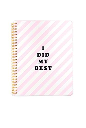 ban.do design Rough Draft Mini Notebook - I Did My Best (53821)
