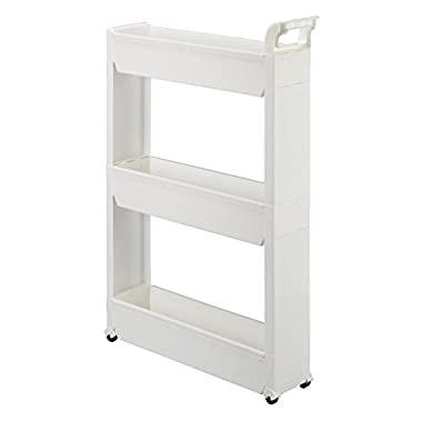Miles Kimball 3-Tier Slim Storage Cart