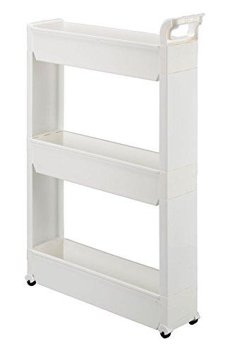 Miles Kimball 3-Tier Slim Storage Cart