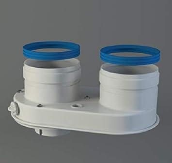 Fyg Separador Flujo Caldera condensacion Sime 80/80mm