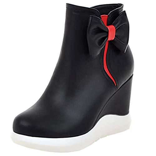 Classic Boot Women's Classic AIYOUMEI AIYOUMEI Women's Black qwd4CTq