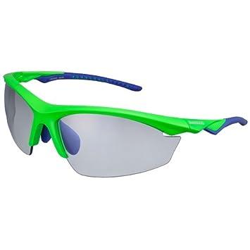 Shimano ECEEQX2PHNGB - Gafa SH Eqx2 Ph Verde Neon/Azul 2l V15