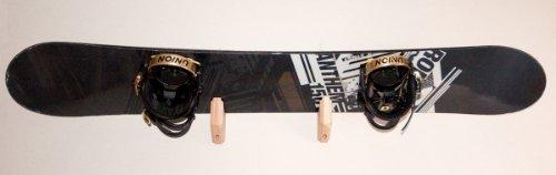 Snowboard Wall Rack Mount - Holds 1 Board by Pro Board Racks