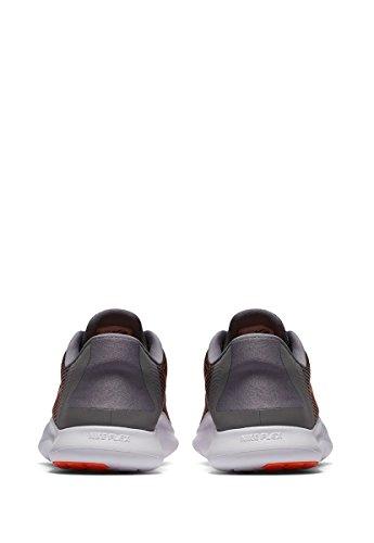 NIKE Men's Flex 2018 Rn Running Shoe Gunsmoke Crimson Black Grey explore cheap online buy cheap latest explore best store to get cheap price 9JasBJt1ou