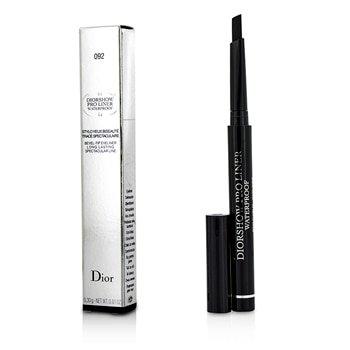 Christian Dior Diorshow Pro Liner Waterproof Bevel-Tip Eyeliner, 092/Pro Black, 0.01 Ounce (Dior Eyeliner Pencil)